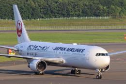 North1973さんが、新千歳空港で撮影した日本航空 767-346/ERの航空フォト(飛行機 写真・画像)