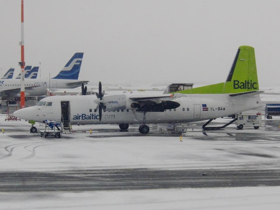TA27さんのエア・バルティック Fokker 50 (YL-BAW) 航空フォト