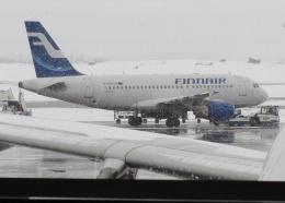 TA27さんが、ヘルシンキ空港で撮影したフィンエアー A319-112の航空フォト(飛行機 写真・画像)