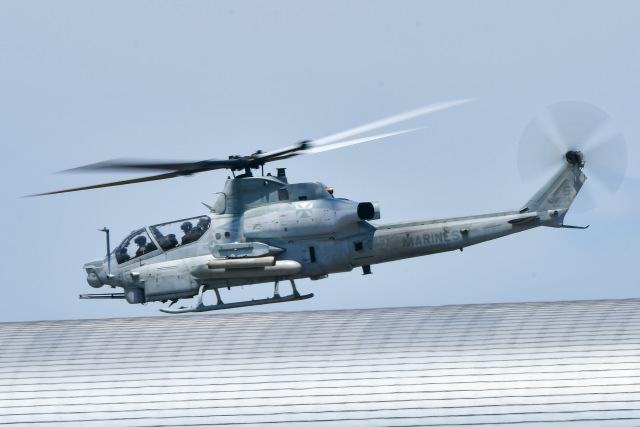ROSENTHALさんが、関西国際空港で撮影したアメリカ海兵隊 AH-1Z Viperの航空フォト(飛行機 写真・画像)