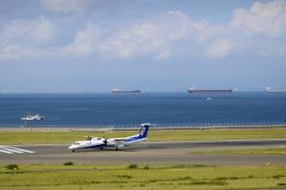 ▲®さんが、中部国際空港で撮影したANAウイングス DHC-8-402Q Dash 8の航空フォト(飛行機 写真・画像)
