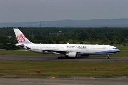 にしやんさんが、新千歳空港で撮影したチャイナエアライン A330-302の航空フォト(飛行機 写真・画像)
