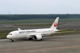にしやんさんが、新千歳空港で撮影した日本航空 787-8 Dreamlinerの航空フォト(飛行機 写真・画像)