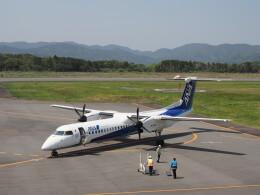 ガスパールさんが、五島福江空港で撮影したANAウイングス DHC-8-402Q Dash 8の航空フォト(飛行機 写真・画像)