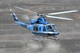 kiheiさんが、名古屋飛行場で撮影した愛知県警察 412EPの航空フォト(飛行機 写真・画像)
