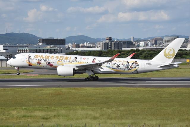 ITM44さんが、伊丹空港で撮影した日本航空 A350-941の航空フォト(飛行機 写真・画像)