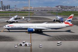 kuraykiさんが、羽田空港で撮影したブリティッシュ・エアウェイズ 777-336/ERの航空フォト(飛行機 写真・画像)