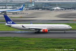 kina309さんが、羽田空港で撮影したスカンジナビア航空 A330-343Xの航空フォト(飛行機 写真・画像)