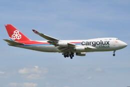 fly A340さんが、成田国際空港で撮影したカーゴルクス 747-4R7F/SCDの航空フォト(飛行機 写真・画像)