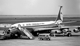 Y.Todaさんが、羽田空港で撮影したエア・インディア 707-400の航空フォト(飛行機 写真・画像)