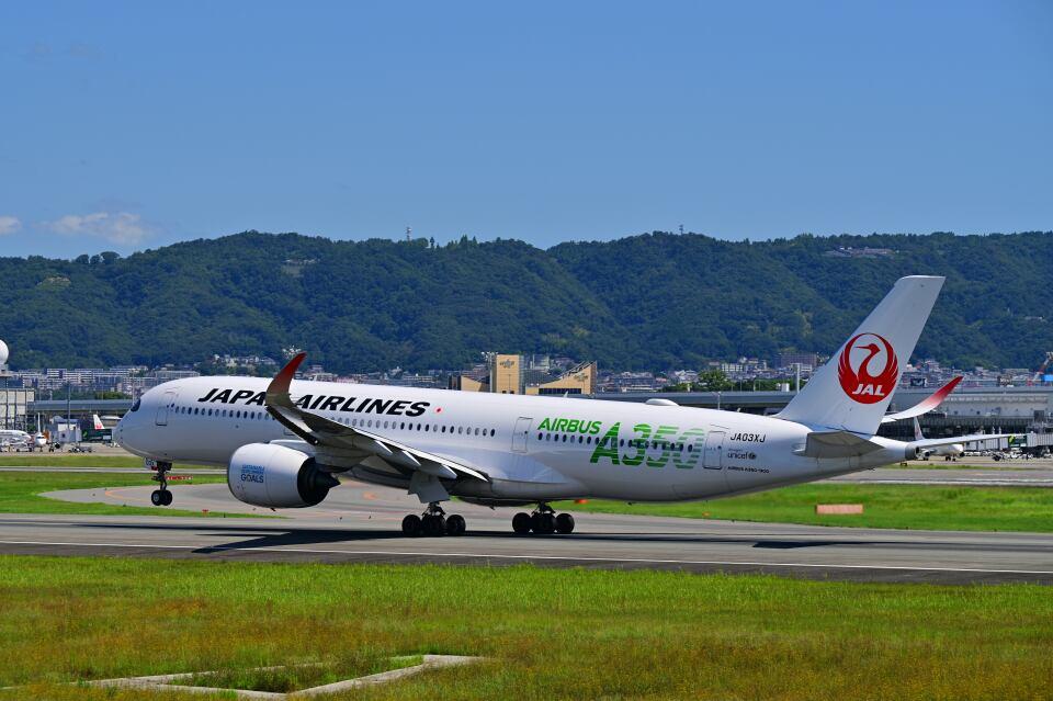 天心さんの日本航空 Airbus A350-900 (JA03XJ) 航空フォト
