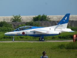 宮城の航空ファンさんが、松島基地で撮影した航空自衛隊 T-4の航空フォト(飛行機 写真・画像)