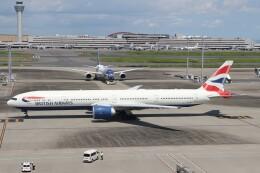 サリーちゃんのパパさんが、羽田空港で撮影したブリティッシュ・エアウェイズ 777-336/ERの航空フォト(飛行機 写真・画像)