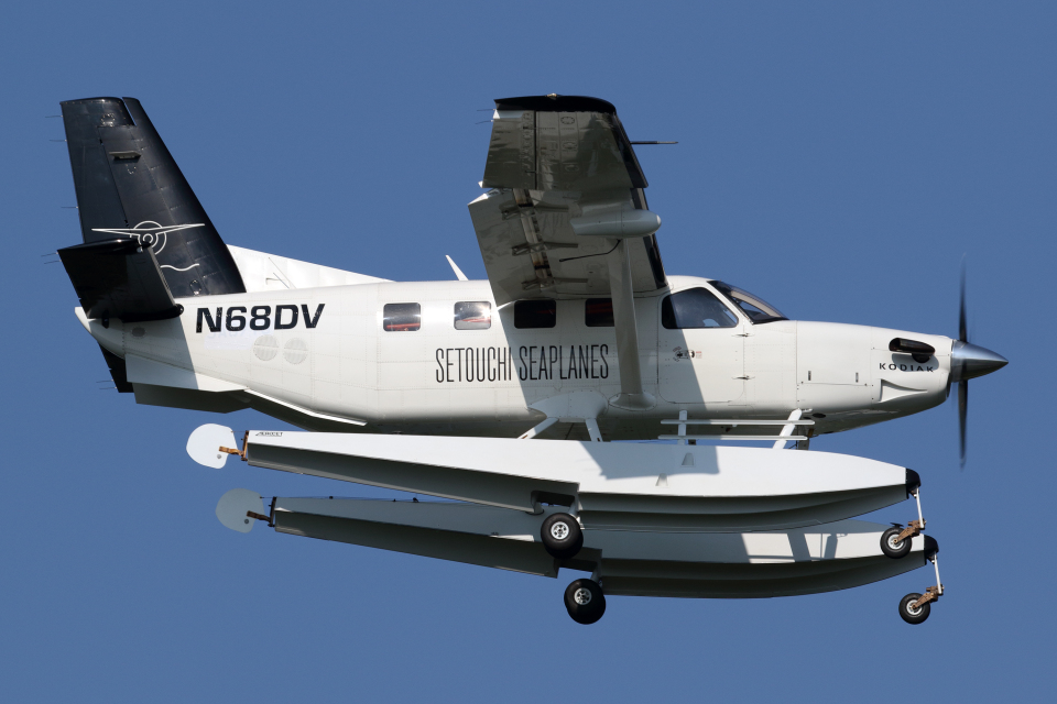Echo-Kiloさんのアメリカ企業所有 Quest Kodiak (N68DV) 航空フォト