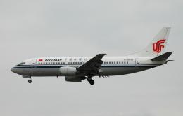 チャーリーマイクさんが、福岡空港で撮影した中国国際航空 737-3Z0の航空フォト(飛行機 写真・画像)