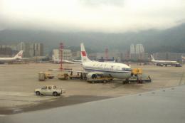 チャーリーマイクさんが、啓徳空港で撮影した中国民用航空局 737-3J6の航空フォト(飛行機 写真・画像)