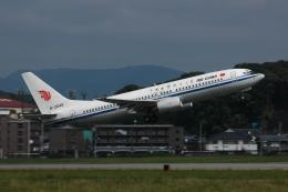チャーリーマイクさんが、福岡空港で撮影した海南航空 737-8Q8の航空フォト(飛行機 写真・画像)