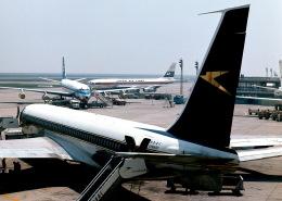 Y.Todaさんが、羽田空港で撮影したブリティッシュ・オーバーシーズ・エアウェイズ (BOAC) 707-400の航空フォト(飛行機 写真・画像)