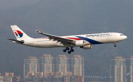Asamaさんが、香港国際空港で撮影したマレーシア航空 A330-323Xの航空フォト(飛行機 写真・画像)