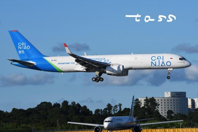 tassさんが、成田国際空港で撮影したアビアスター 757-223の航空フォト(飛行機 写真・画像)