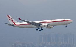 Asamaさんが、香港国際空港で撮影したガルーダ・インドネシア航空 A330-343Xの航空フォト(飛行機 写真・画像)