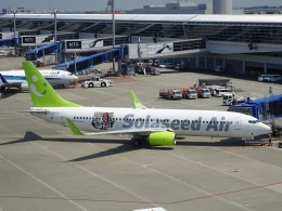 ukokkeiさんが、中部国際空港で撮影したソラシド エア 737-86Nの航空フォト(飛行機 写真・画像)