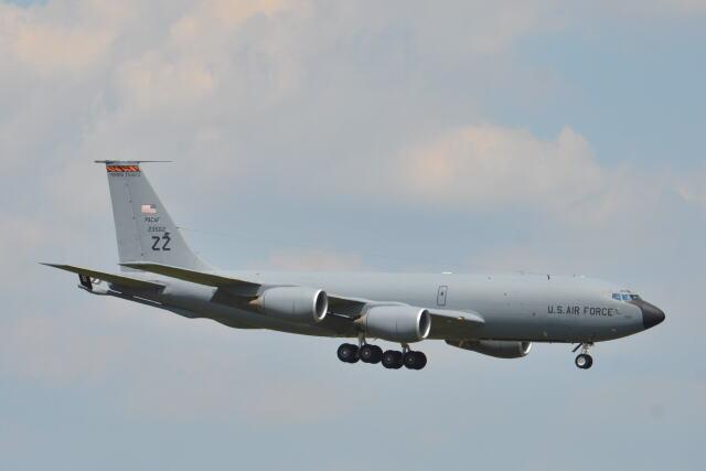 350JMさんが、横田基地で撮影したアメリカ空軍 KC-135R Stratotanker (717-148)の航空フォト(飛行機 写真・画像)