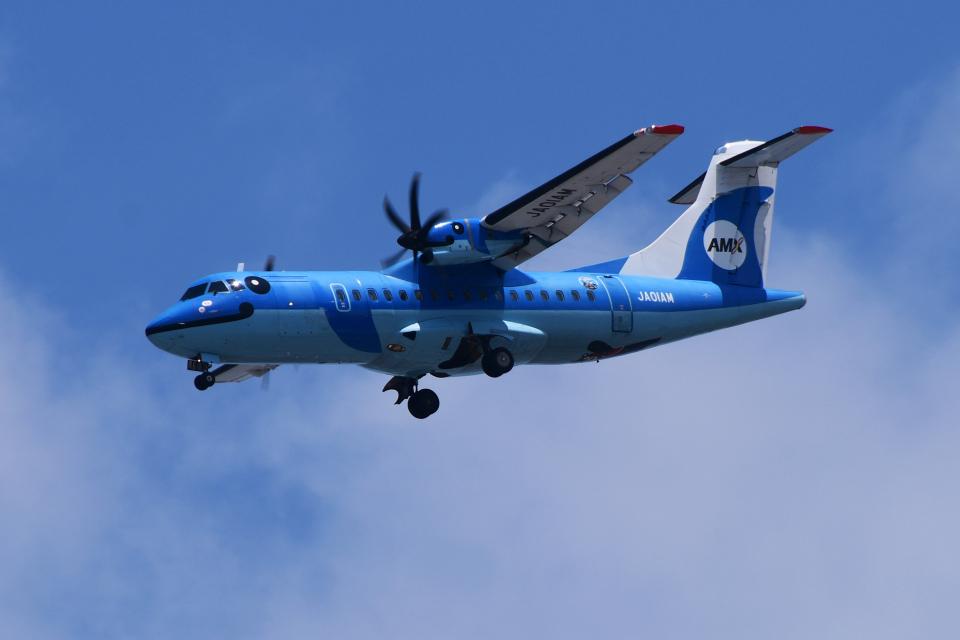 TOPAZ102さんの天草エアライン ATR 42 (JA01AM) 航空フォト