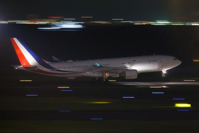 多摩川崎2Kさんが、羽田空港で撮影したフランス空軍 A330-223の航空フォト(飛行機 写真・画像)