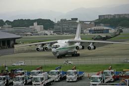 tsubameさんが、福岡空港で撮影したアルジェリア空軍 Il-76TDの航空フォト(飛行機 写真・画像)
