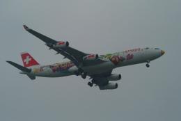 どらネコ★きんぐさんが、成田国際空港で撮影したスイスインターナショナルエアラインズ A340-313Xの航空フォト(飛行機 写真・画像)