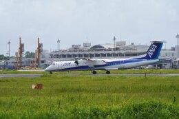 かろすけさんが、宮崎空港で撮影したANAウイングス DHC-8-402Q Dash 8の航空フォト(飛行機 写真・画像)