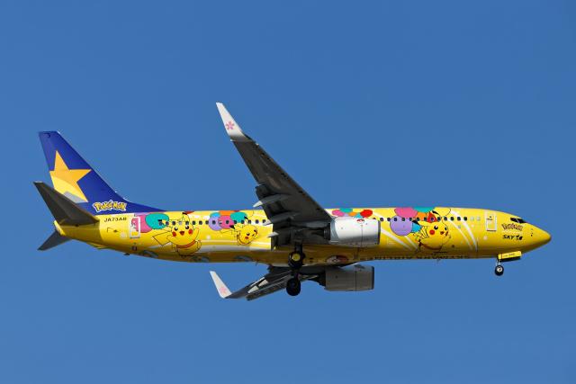 SGR RT 改さんが、羽田空港で撮影したスカイマーク 737-8ALの航空フォト(飛行機 写真・画像)