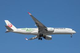 SGR RT 改さんが、羽田空港で撮影した日本航空 A350-941の航空フォト(飛行機 写真・画像)