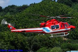 Chofu Spotter Ariaさんが、静岡ヘリポートで撮影した静岡市消防航空隊 412EPの航空フォト(飛行機 写真・画像)