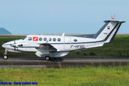 Chofu Spotter Ariaさんが、静岡空港で撮影したフランス企業所有 200 Super King Airの航空フォト(飛行機 写真・画像)