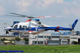 Chofu Spotter Ariaさんが、東京ヘリポートで撮影した中日本航空 430の航空フォト(飛行機 写真・画像)