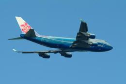 どらネコ★きんぐさんが、成田国際空港で撮影したチャイナエアライン 747-409の航空フォト(飛行機 写真・画像)