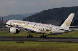 たっきーさんが、伊丹空港で撮影した日本航空 A350-941の航空フォト(飛行機 写真・画像)