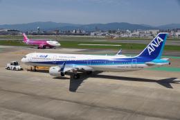 神宮寺ももさんが、福岡空港で撮影した全日空 A321-272Nの航空フォト(飛行機 写真・画像)