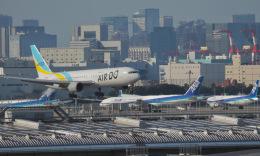 monjiro22001さんが、羽田空港で撮影したAIR DO 767-381/ERの航空フォト(飛行機 写真・画像)