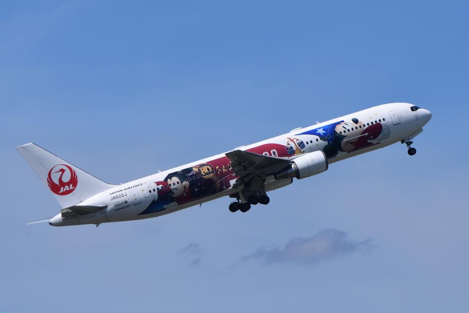 TOPAZ102さんの日本航空 Boeing 767-300 (JA622J) 航空フォト