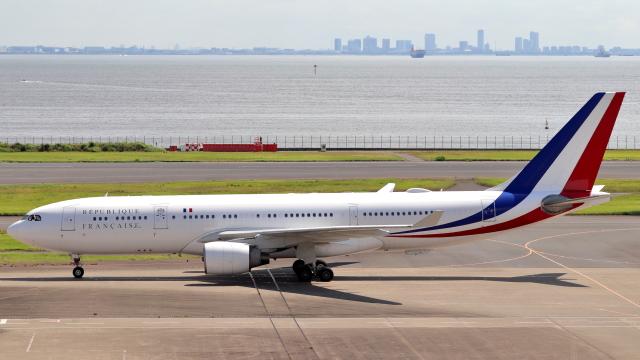 誘喜さんが、羽田空港で撮影したフランス空軍 A330-223の航空フォト(飛行機 写真・画像)