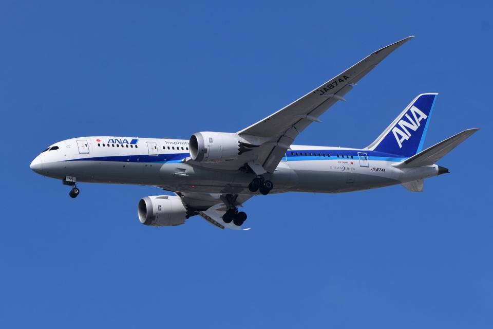 TOPAZ102さんの全日空 Boeing 787-8 Dreamliner (JA874A) 航空フォト
