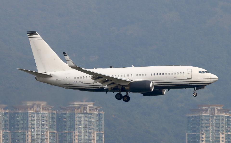 Asamaさんのケイマン諸島企業所有 Boeing 737-700 (VP-CKG) 航空フォト
