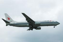 チャーリーマイクさんが、福岡空港で撮影した中国国際航空 737-89Lの航空フォト(飛行機 写真・画像)