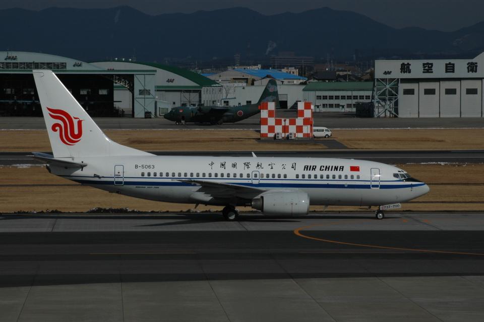 チャーリーマイクさんの中国国際航空 Boeing 737-700 (B-5063) 航空フォト