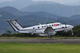ゴンタさんが、静岡空港で撮影したフランス企業所有 200 Super King Airの航空フォト(飛行機 写真・画像)