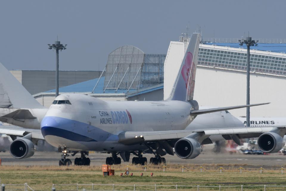 panchiさんのチャイナエアライン Boeing 747-400 (B-18721) 航空フォト