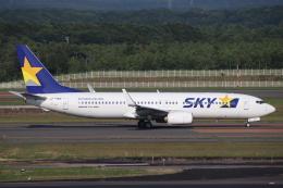 天王寺王子さんが、新千歳空港で撮影したスカイマーク 737-86Nの航空フォト(飛行機 写真・画像)